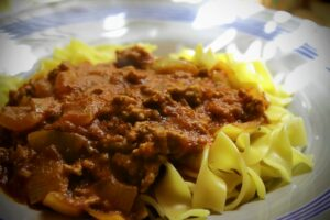 Homestyle Bolognese Sauce