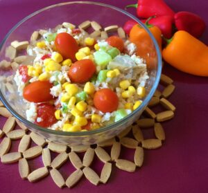 rice salad summer meals