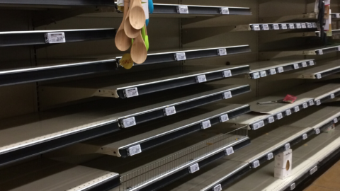 los angeles grocery stores during COVID 19